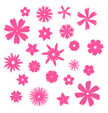 Pack of Vector Flowers