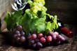 Wine and grape