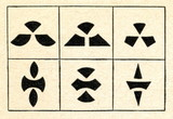 Rybakoff's figures for testing imagination (1910)