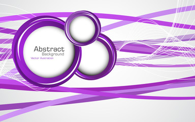 Abstract violet background. Vector