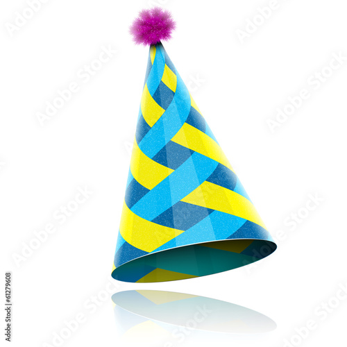 Glossy Cone-like Hat For Event Celebration. - 61279608