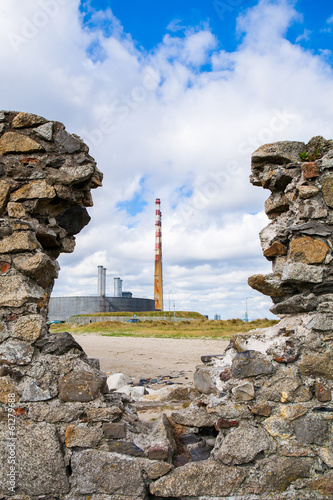 Poolbeg Chimney, Dublin