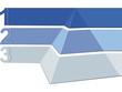 Pyramide Logo blau
