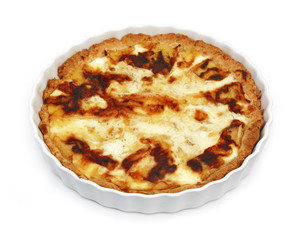 Tarte au maroilles - French Cheese pie