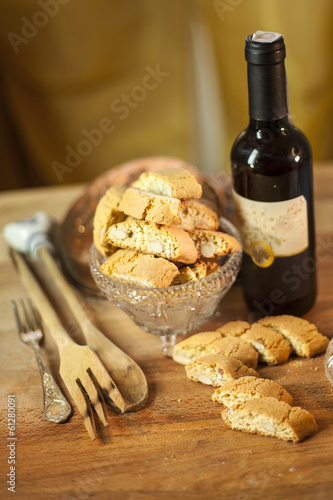 Cantucci biscuits of siena