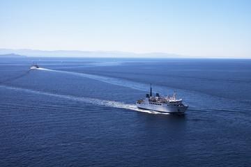 Strait of Bonifacio.