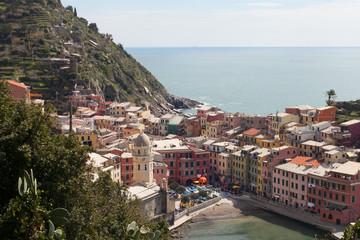 Vernazza city, Italy.