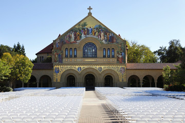 Stanford university church