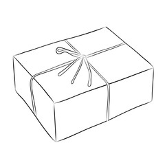 Drawing of box