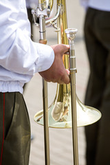 Musician of a military band