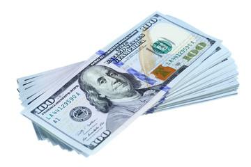 Bundle of new dollars