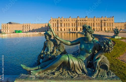 Papiers peints Chateau Statue du château de Versailles