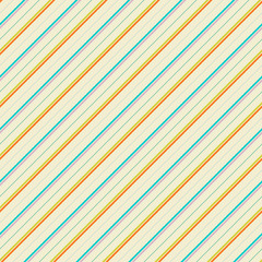 Vintage diagonal stripe vector seamless pattern (tiling)