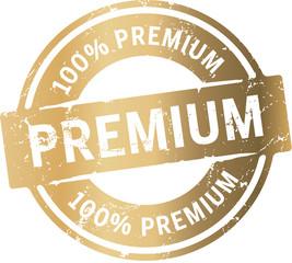 Goldenes Siegel Premium