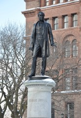 Statue of George Brown in Queen's Park, Toronto