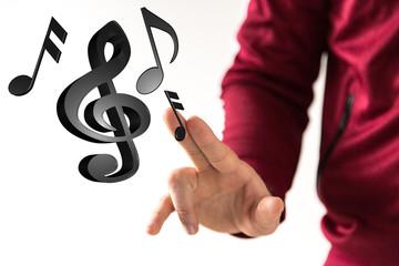 music hand