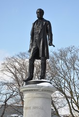 George Brown statue in Queen's Park, Toronto