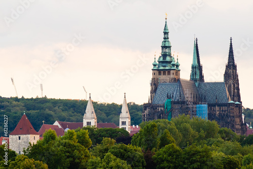 canvas print picture Prague castle