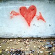red heart graffiti