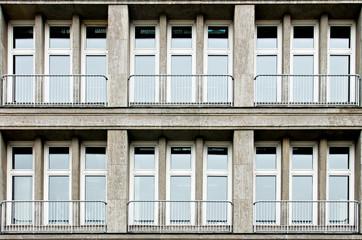 Bürogebäude Fassade Detail