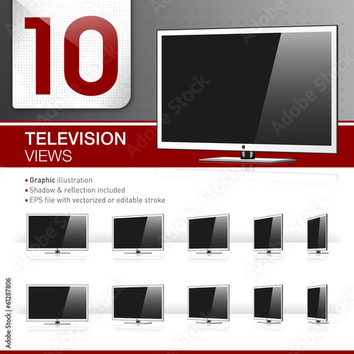 10 TV Views - Graphic