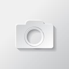 Photo camera icon. Photography.