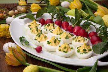 Deviled Eggs for Easter