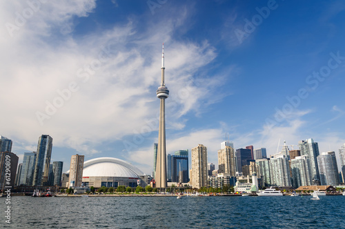Toronto cityscape Poster