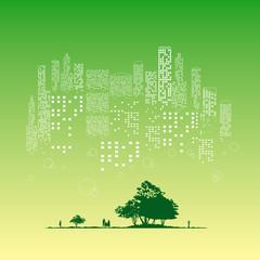 都会の森-3