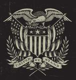 Hand Drawn American Eagle - 61291627