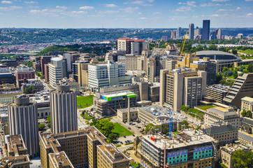 Pittsburgh, Pennsylvania at Oakland Neighborhood