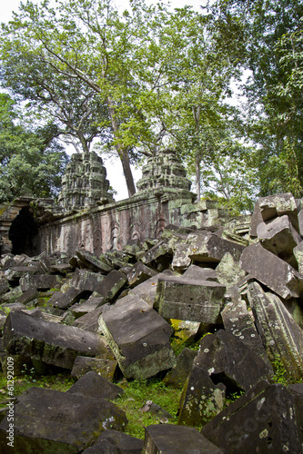 old stones of Angkor Wat