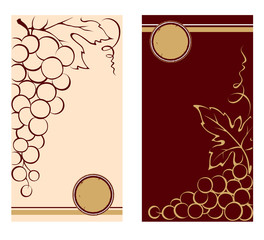Patterns for wine labels
