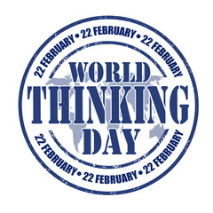 World Thinking Day stamp