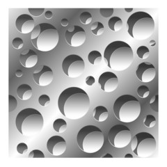 abstract perforated seamless pattern background
