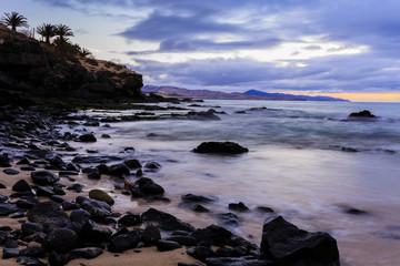 Coast in Fuerteventura, Canary Islands, Spain