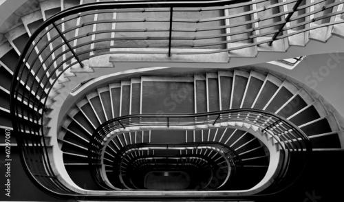Dark staircase - 61297087