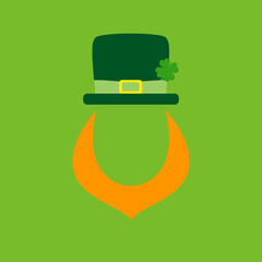 Abstract Leprechaun Saint Patrick´s Day