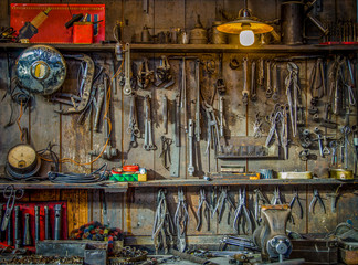 Vintage Tools Workshop