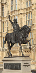 Richard The Lionheart statue