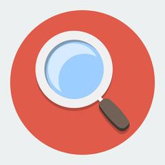 Flat Search Icon