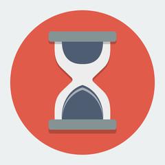 Hourglass Flat Icon