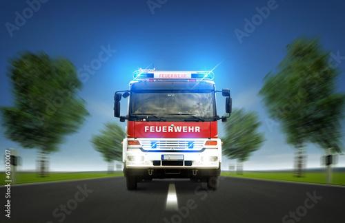 Straż Pożarna na autostradzie
