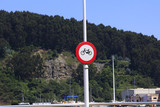 cyclists danger signal