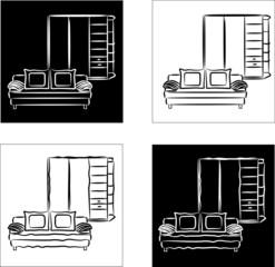 иконка мебель