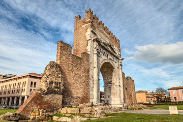 Rimini, Italy - the Arch of Augustus