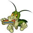 Grasshopper And Harmonica