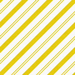 Yellow Diagonal Striped Textured Fabric Background