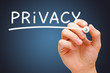 Privacy White Marker