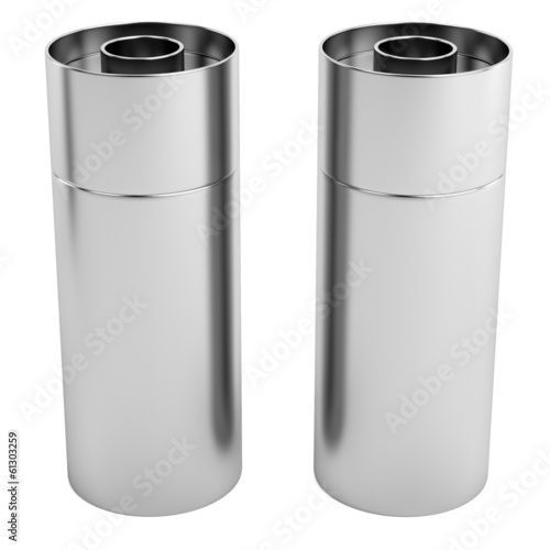realistic 3d render of salt and pepper